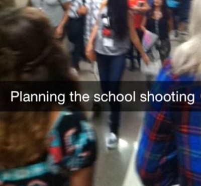 snapchat school shooting 400x370 Teen Arrested Over Snapchat School Shooting Prank