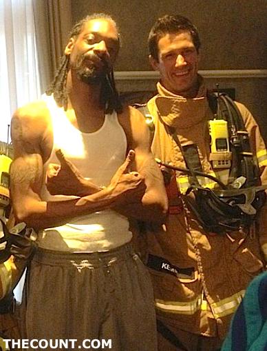 snoop dog fire alarm firefighters