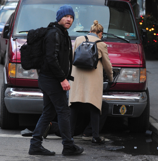 EXCLUSIVE: Sam Worthington and Lara Bingle Punch a Photographer in the Face in NYC