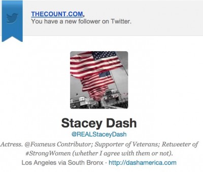stacey dash twitter thecount