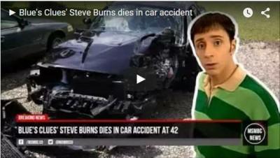 steve burns blues clue died