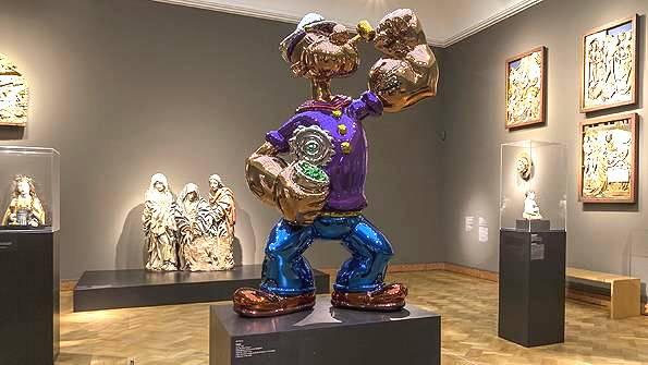 steve wynn popeye sculpture