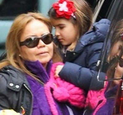 suri body double1 Suri Cruise Discovered Using Body Double To Fool Public