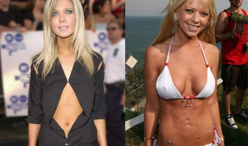 tara reid Celebrity Plastic Surgery Before And After DISASTERS