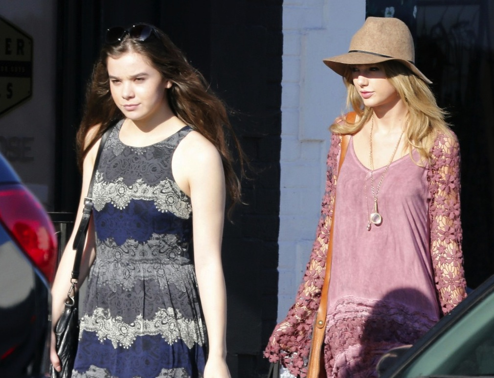 Exclusive... Taylor Swift Goes Shopping In West Hollywood With A Friend