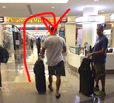 tebow at airport Did The Eagles Cut Tebow? Because He Was Just Spotted At The Airport