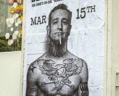 ted cruz tattoos