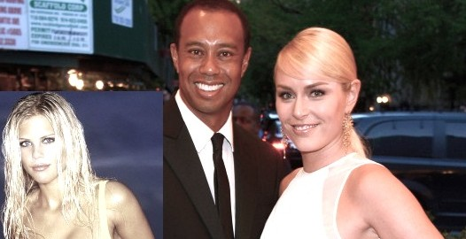 tiger vonn e1407977616109 Elin Nordegren I HATE Lindsey Vonn Almost As Much As TIGER!