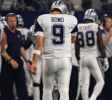 tony romo out for season