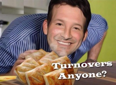 tony romo turnovers