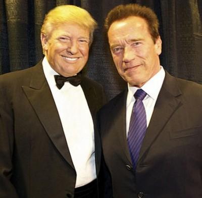 trump Arnold Schwarzenegger