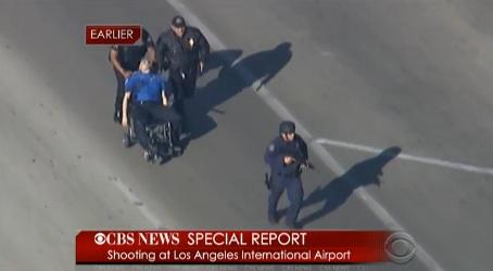 tsa agent wheelchair lax TSA AGENT SHOT AT LAX