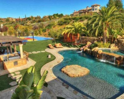 tyga house calabasas 21 400x320 Tyga LANDLORD: Pay $90,000 By Saturday Or Youre Out!