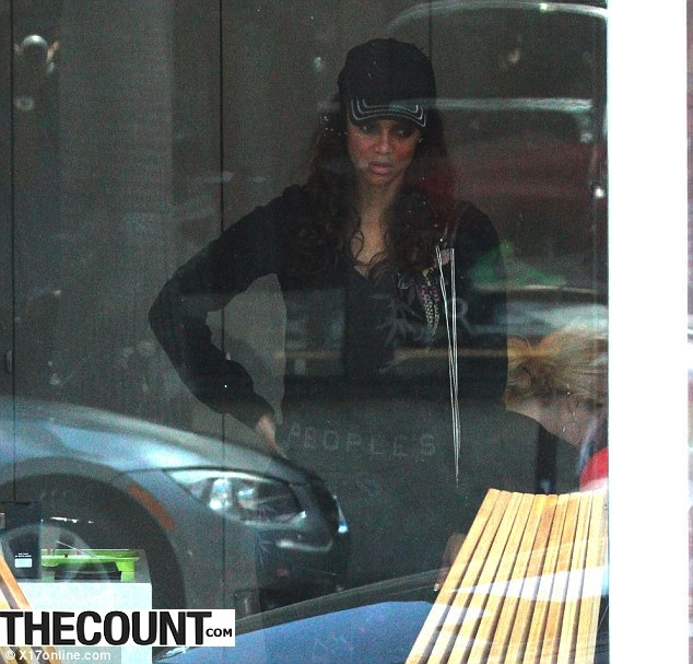tyra banks buying pot Tyra Banks Snapped Purchasing MARIJUANA!