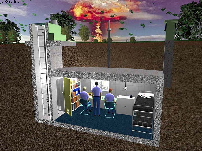 underground nuclear bunker 500x375 Apocalypse Bunker to Be Awarded to