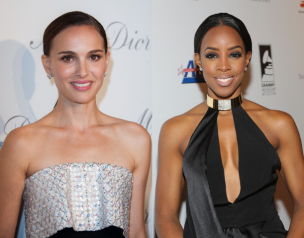 Natalie Portman and Kelly Rowland are both 33.