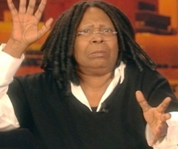 whoopi goldberg the view Whoopi Goldberg BLINDSIDED By Joy Behar Return To The View