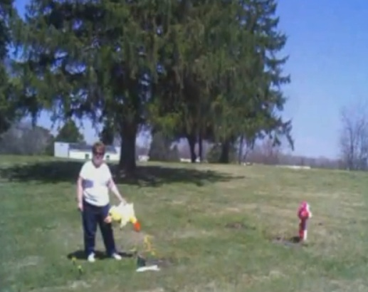 woman steals gifts from baby's grave