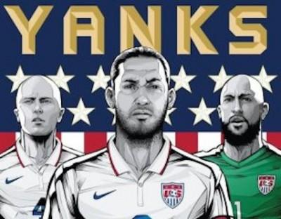 world cup soccer usa yanks photo
