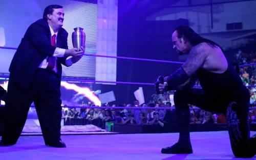 wrestler the undertaker and paul bearer R.I.P. WWE Paul Bearer Undertakers Manager
