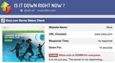 xbox down