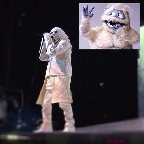 ye Kanye West Abominable Snowman Costume